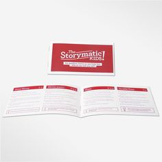 The Storymatic Kids: booklet $30