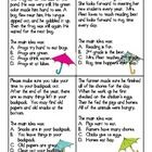 This is a great receptive language printable activity to target main idea in both listening comprehension and reading comprehension. Included: 2 main idea and details main idea paragraph question cardsanswer key for each page (underlined answer)Board game Reading Lessons, Reading Activities, Reading Skills, Teaching Reading, Main Idea Activities, Learning, Education And Literacy, Teaching Resources, Reading Comprehension Strategies
