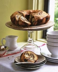 "Coffee cake is a classic and after you try this recipe, you'll crave this timeless dish again and again. It can be frozen and served with coffee or hot chocolate as part of breakfast, or you can change it up and serve with a scoop of ice cream for dessert.  From the book ""Mad Hungry,"" by Lucinda Scala Quinn (Artisan Books)."