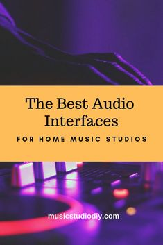 Best Audio Interfaces Guide for Home Music Studios - Music Studio DIY Music Studio Decor, Home Recording Studio Setup, Home Studio Music, Tiny Studio, Music Production Equipment, Production Studio, Video Production, Home Studio Equipment, Dj Equipment