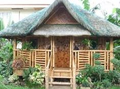 Shacking up in a Nipa-hut (bahay-kubo in Filipino) out in the tropics. Proud pinoy here! Filipino Architecture, Plans Architecture, Bamboo Architecture, Bamboo House Design, Small House Design, Bahay Kubo Design Philippines, Cabana, Small Cottage Designs, Hut House