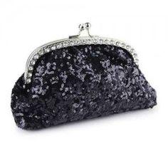 Nuevo bolsa de mano de moda con lentejuelas para mujer