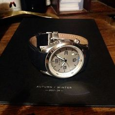 @Elliot Brown watches AW14 - a flash of blue #AStitchInTime