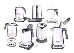 KENWOOD | Variable Temperature Kettle on Industrial Design Served