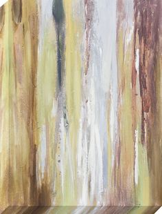 Earth tones Painting on Wrapped Canvas