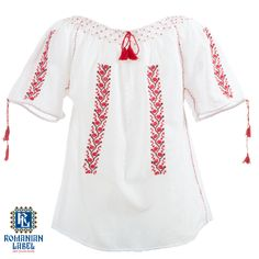 $45 As pure and natural as a young childs heart, the traditional blouse fits both the shy and the prankish kids
