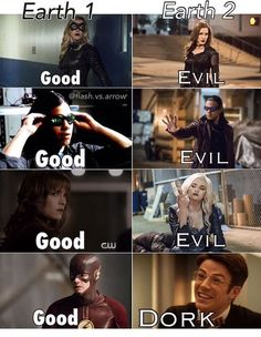 When everyone else's doppelgänger is evil and yours is a totally DORK!