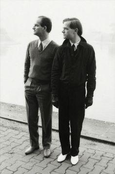 Florian Schneider and Ralf Hütter