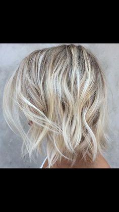 Blonde - Highlights - Ash - Balayage