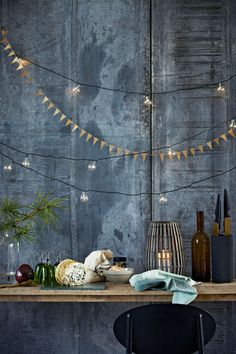 Inspiration to create casual, simple and Scandinavian winter wonderland!