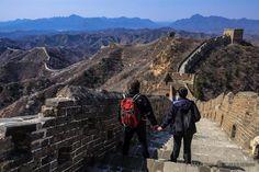 Trekking entre Jinshanling y Simatai en la Gran Muralla China