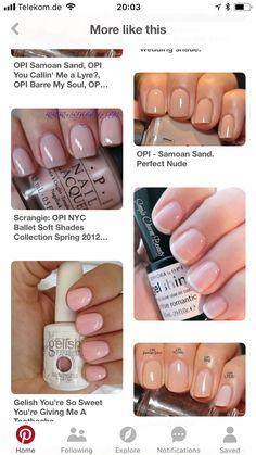 Opi Samoan Sand, Nail Polish, Nails, Simple, Finger Nails, Ongles, Nail Polishes, Manicure, Nail