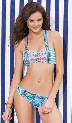 Maaji Swimsuits brings you it's SPORTY, FASHION Bikini Fashion Blossomy Anana (434MT/434MB)
