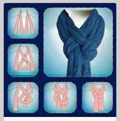 Scarves How to Tie Them | How to tie a scarf |