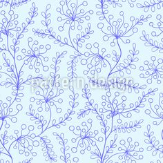 Frosty Flowers And Leaves Vector Ornament Vector Pattern, Pattern Design, Leaves Vector, Surface Design, Spring Time, Your Design, Doodles, Ornaments, Patterns