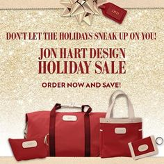 Jon Hart Trunk ShowThis Friday the 20thLast day to order for guaranteed Christmas deliveryFREE MONOGRAMLast day for SALE prices #thompsonscanyon #jonhart #trunkshow #freemonogram #christmasgiftideas #personalizedgifts by thompsonscanyon