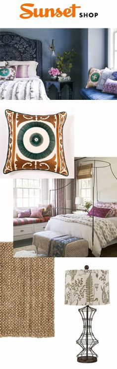 With just the right amount  of exotic flair, you can turn your bedroom into a breathtaking bohemian retreat.