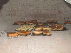 Horno de pan xeca durante la Semana Santa