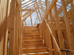 Stairs to Attic Storage
