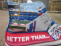 Rock the Ralph in your Buffalo Bills custom kicks