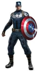 Captain America is a hero who always save the world.He are a strong man.He always help others too.He are powerful man .