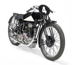 1920's Cotton-JAP 250cc Racing Motorcycle Via Bonhams