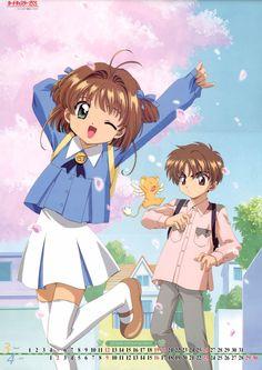 Cardcaptor Sakura | CLAMP | Madhouse / Kinomoto Sakura, Li Shaoran, and Keroberos (Kero-chan)