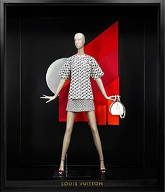 """LOUIS VUITTON,Paris,France, """"All different shapes and sizes"""", pinned by Ton van der Veer"""