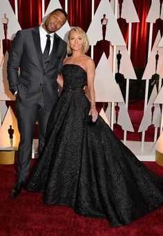 Oscars 2015 Red Carpet Arrivals | Michael Strahan and Kelly Ripa