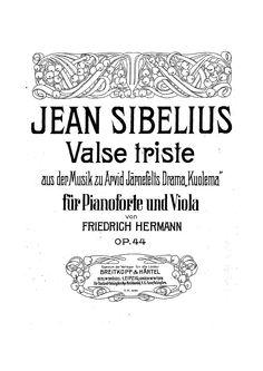 Sibelius: Valse Trieste, Op. 44 Berliner Philharmoniker and Herbert Von Karajan