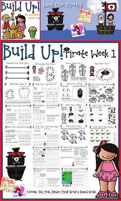 Pirate Week Printables (Image from 3 Dinosaurs)