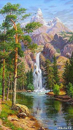 """deepsoulfury: """" Gif Waterfall """""""