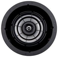 "SpeakerCraft - Profile AIM8 Three 8"" In-Ceiling Speaker (Each) - Silver"