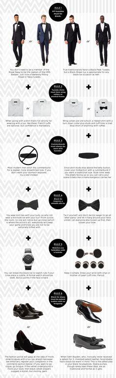 A guide to breaking all the black tie rules, in style. #zobelloman #menswear #mensfashion | Raddest Men's Fashion Looks On The Internet: http://www.raddestlooks.org