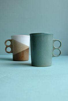 Trigger Mugs by Bennington Potters by MisterTrue on Etsy, $22.00