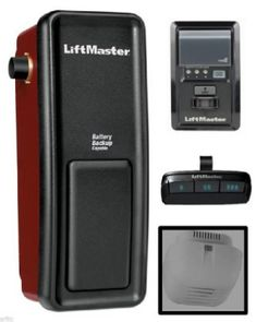 5. Liftmaster 8500 Wall Mount Garage Door Opener Liftmaster 8500, Garage Door Opener Remote, Garage Door Opener Installation, Garage Door Parts, Best Garage Doors, Garage House, Garage Shop, Dream Garage, Garage Workshop