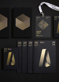 Annual Conference New York City — 2019 on Behance Collateral Design, Corporate Identity Design, Event Branding, Graphic Design Branding, Visual Identity, Identity Branding, Brochure Design, Packaging Design, Conference Branding