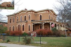 503 Pine Street, Yankton, SD This Italianate style house is located at 503 Pine Street in Yankton, South Dakota. The house was built in 1879 and listed on the National Register of Historic Places in 1975 as a contributing building in the Yankton Historic District.