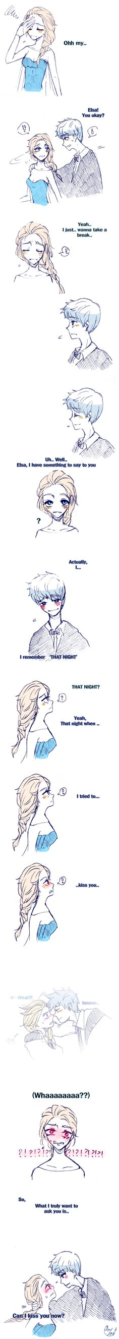Rise of the Guardians' Jack Frost and Frozen's Elsa   J.K. Rowling's Harry Potter / [Triwizard] Ball-Jelsa (2) by Lime-Hael on DeviantArt