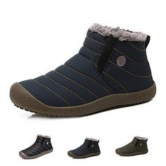 """HOT PRICES FROM ALI - Buy """"MVVT Super warm Men winter boots Unisex quality snow boots for men waterproof warm winter shoes men's ankle boots with fur"""" for only USD. Ankle Snow Boots, Mens Snow Boots, Mens Ankle Boots, Mens Winter Boots, Winter Snow Boots, Fur Boots, Winter Shoes, Winter Sneakers, Ankle Booties"""