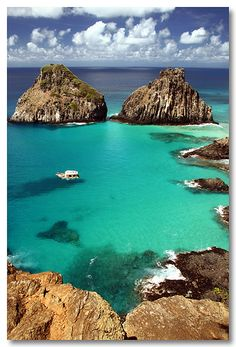 Wanderlust :: Travel the World :: Seek Adventure :: Free your Wild :: Photography & Inspiration :: See more Untamed Beach + Island + Mountain Destinations :: Fernando de Noronha, Brazil Places Around The World, Oh The Places You'll Go, Travel Around The World, Places To Travel, Travel Destinations, Places To Visit, Around The Worlds, Dream Vacations, Vacation Spots
