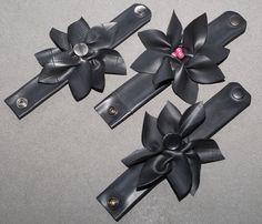 armbanden bloem rubber