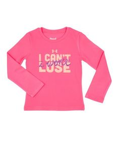 Under Armour Girls' Infant UA Can't Lose Longsleeve - Listing price: $25.99 Now: $20.99
