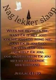 Goeie Nag, Afrikaans Quotes, Christian Messages, Good Night Sweet Dreams, Good Night Quotes, Morning Greeting, Sleep Tight, Positive Thoughts, Bible Quotes