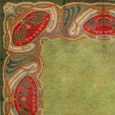 donegal carpets | Art Nouveau Irish Donegal Rug / Carpet image 2
