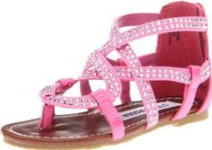 Steve Madden Tiezabel Sandal (Toddler/Little Kid) Steve Madden. $36.95. leather. Made in China. Manmade sole