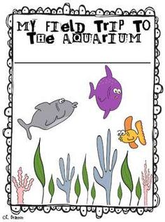 Aquarium Field Trip Fun! This booklet allows children to make predictions and reflect on their learning.
