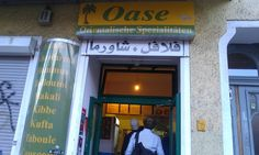 """""""Oase"""" is a Arabic restaurant at Warschauer Str.. Never ate a better Schawarma, than there! You should really try it!"""