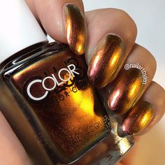 Color Club Oil Slick Collection [shade: burnt out]
