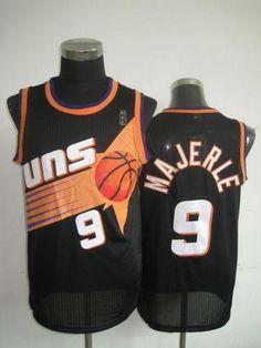Suns  9 Dan Majerle Black Throwback Stitched NBA Jersey Cheap Nba Jerseys 3e250daf8
